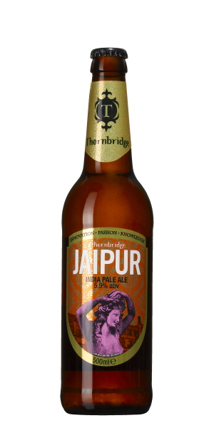 India Pale Ale - Thornbridge Jaipur - Dryck till indisk mat